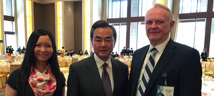 Harry Stine Addresses Future of Food Production with Chinese Ag Leaders